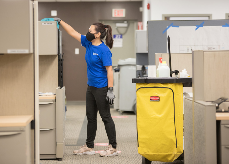 commercial and office cleaning Regina