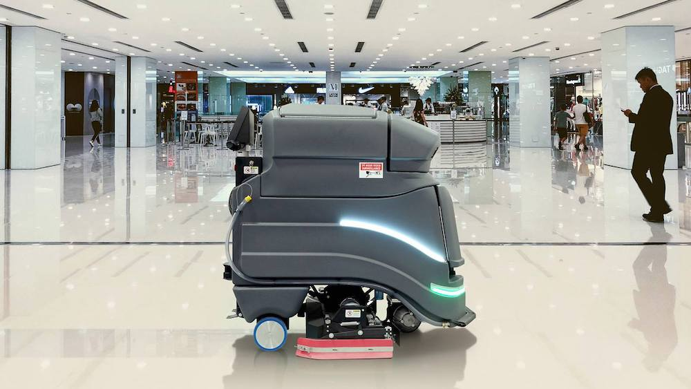 Robot commercial cleaning